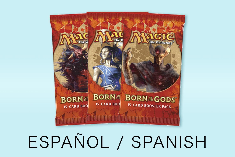 Born of the Gods in Spanish