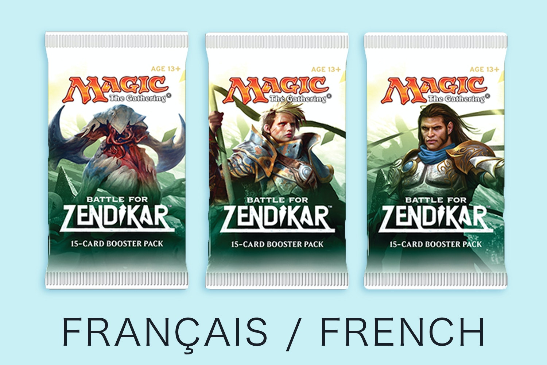 Battle for Zendikar in French