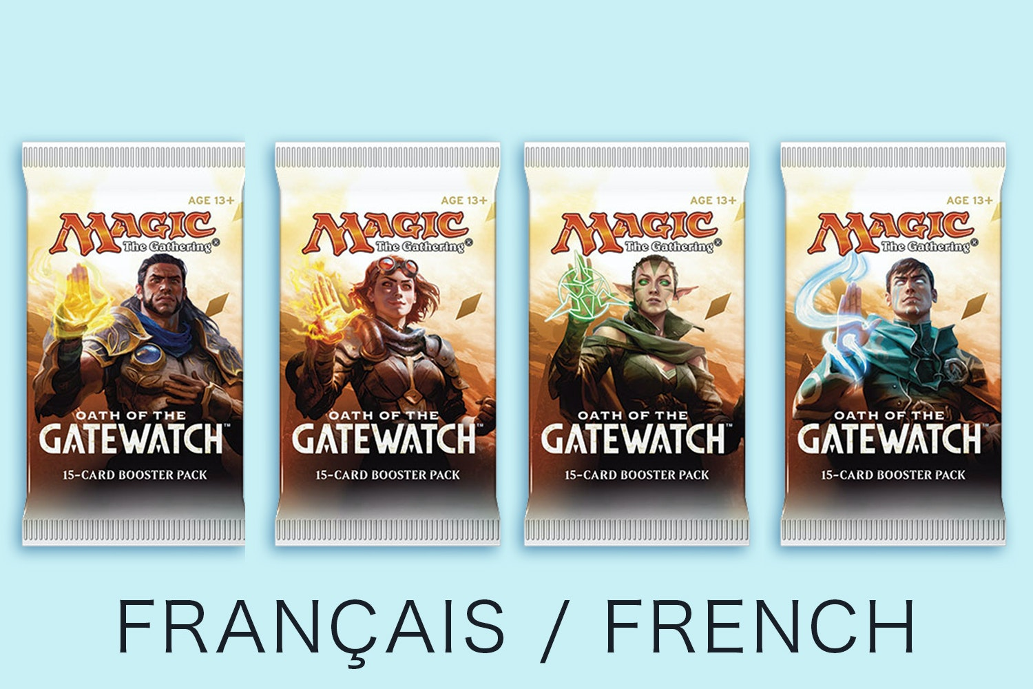 Oath of Gatewatch in French