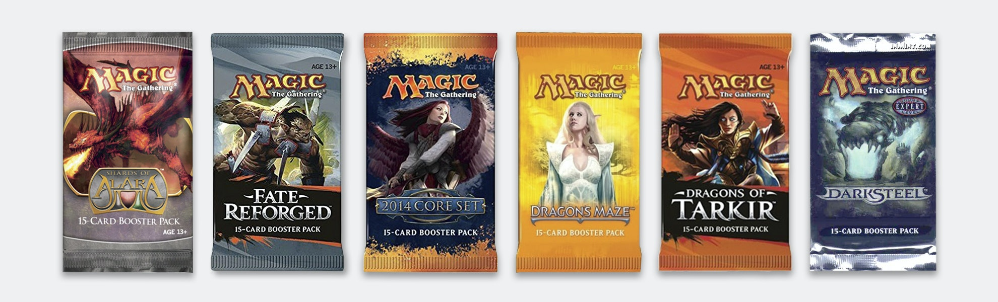 MTG Out-of-Print Booster Pack Bundle (6-Pack)