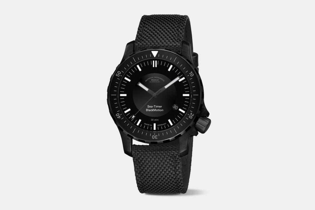 Mühle-Glashütte Sea-Timer Automatic Watch