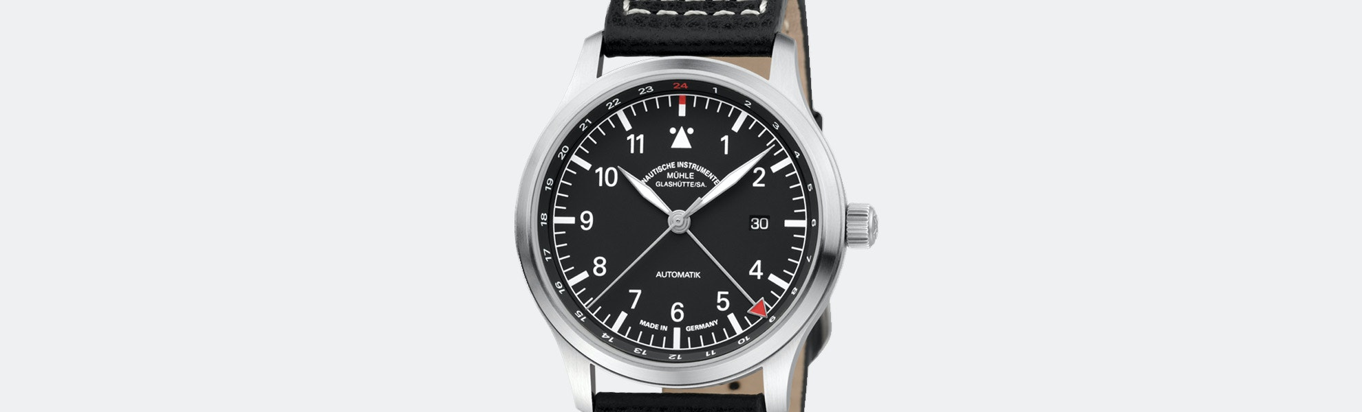 Mühle Glashütte Terrasport IV GMT Automatic Watch