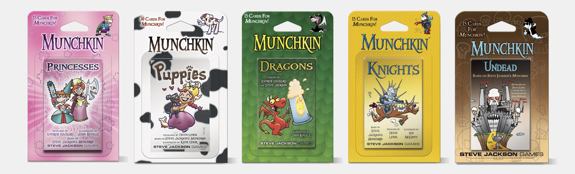 Munchkin Blister Booster Packs (5-Pack)