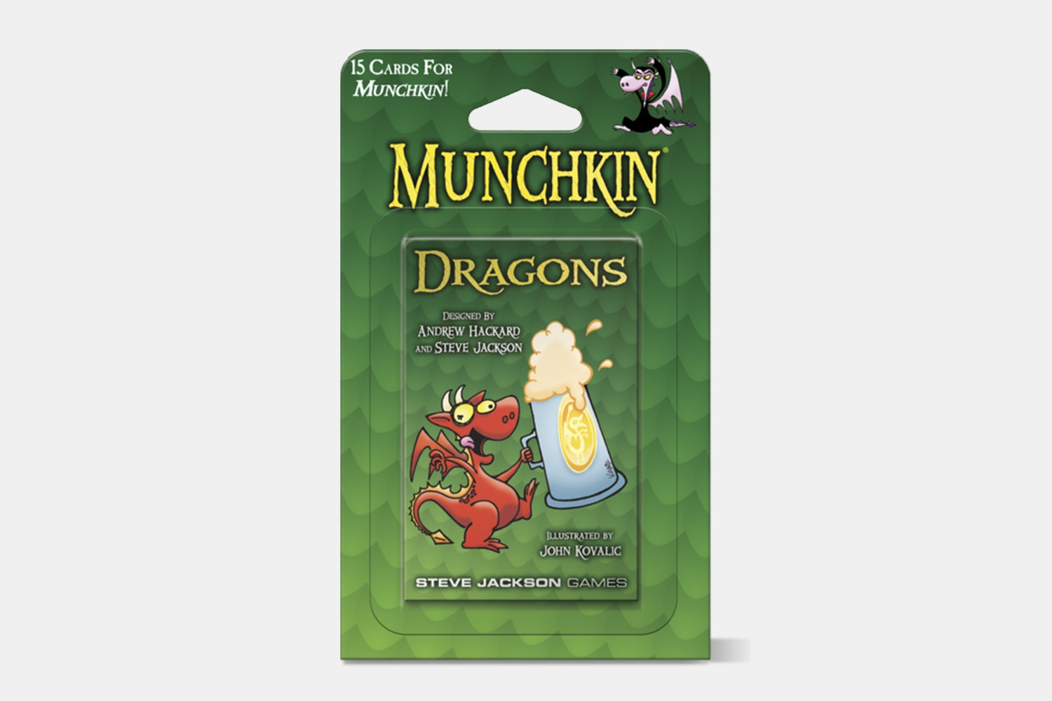 Munchkin Dragons Blister Booster Pack