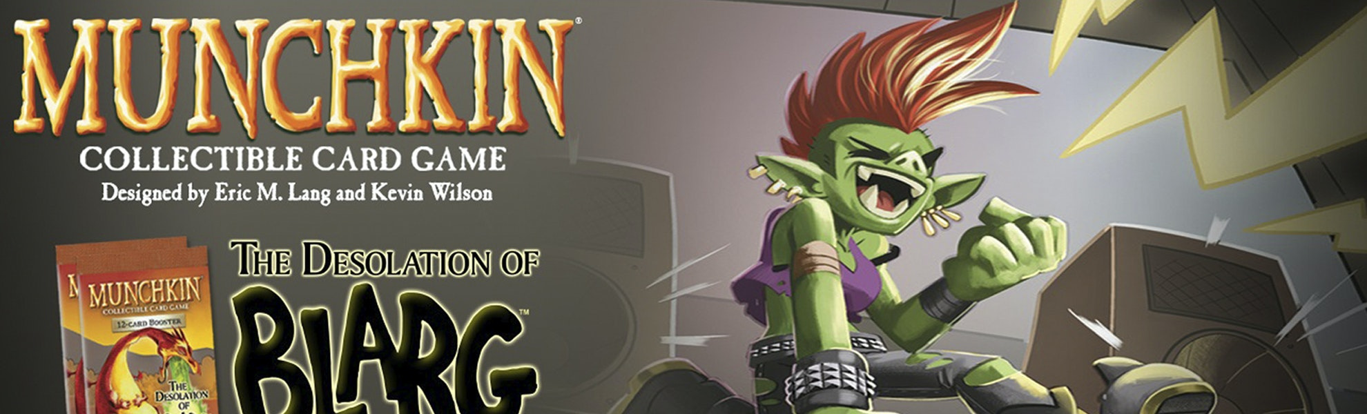 Munchkin CCG Desolation of Blarg Booster Box