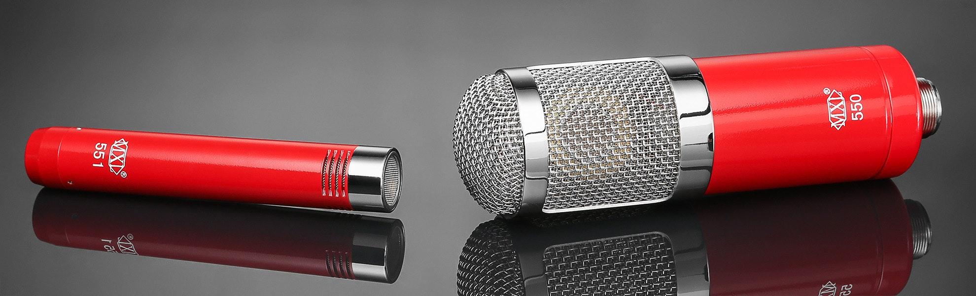 MXL 550/551 Microphone Ensemble