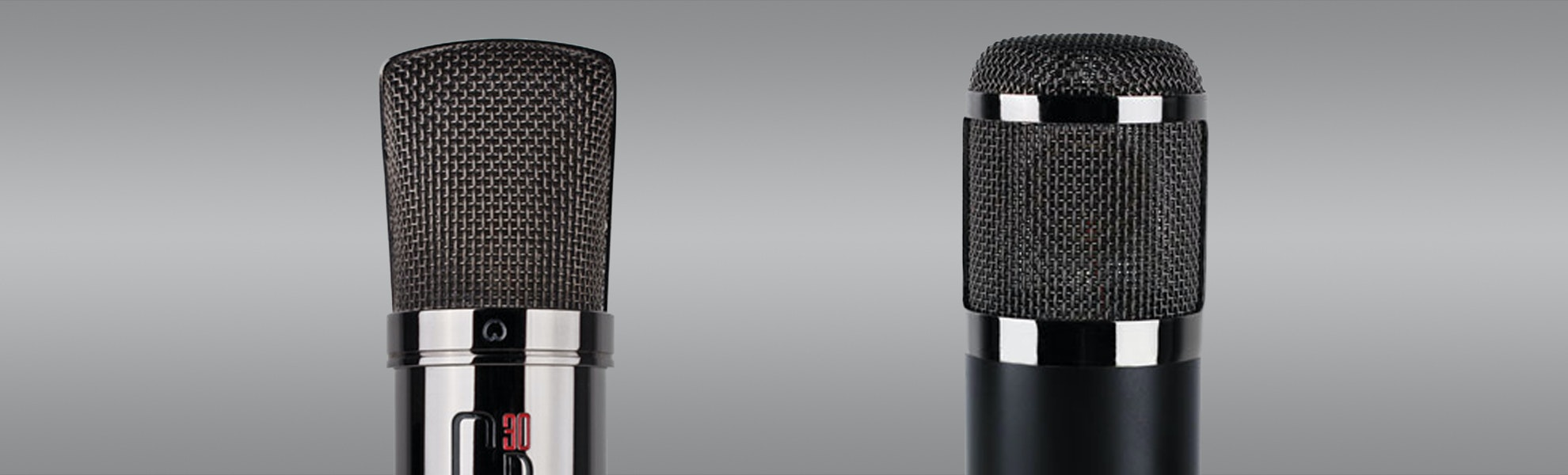 MXL CR30 & CR89 Microphones