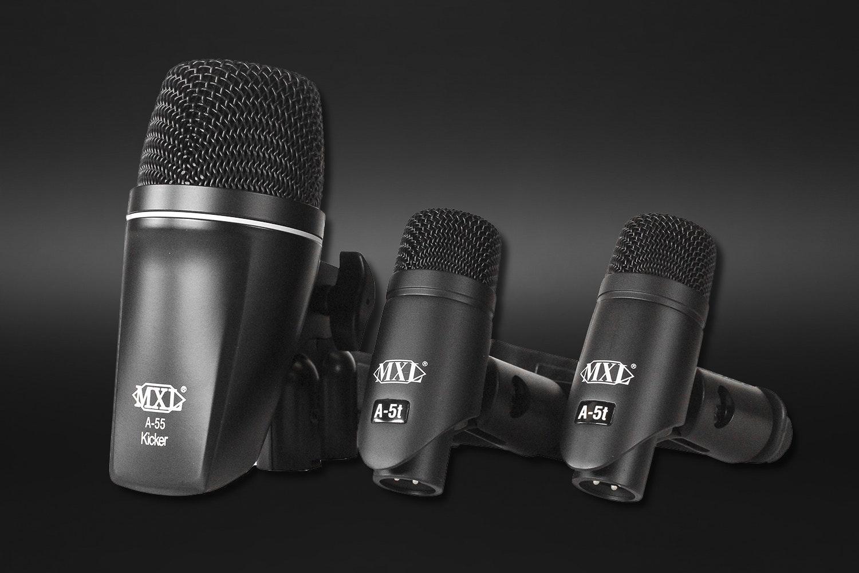MXL PA-5K 3-Piece Drum Microphone Kit