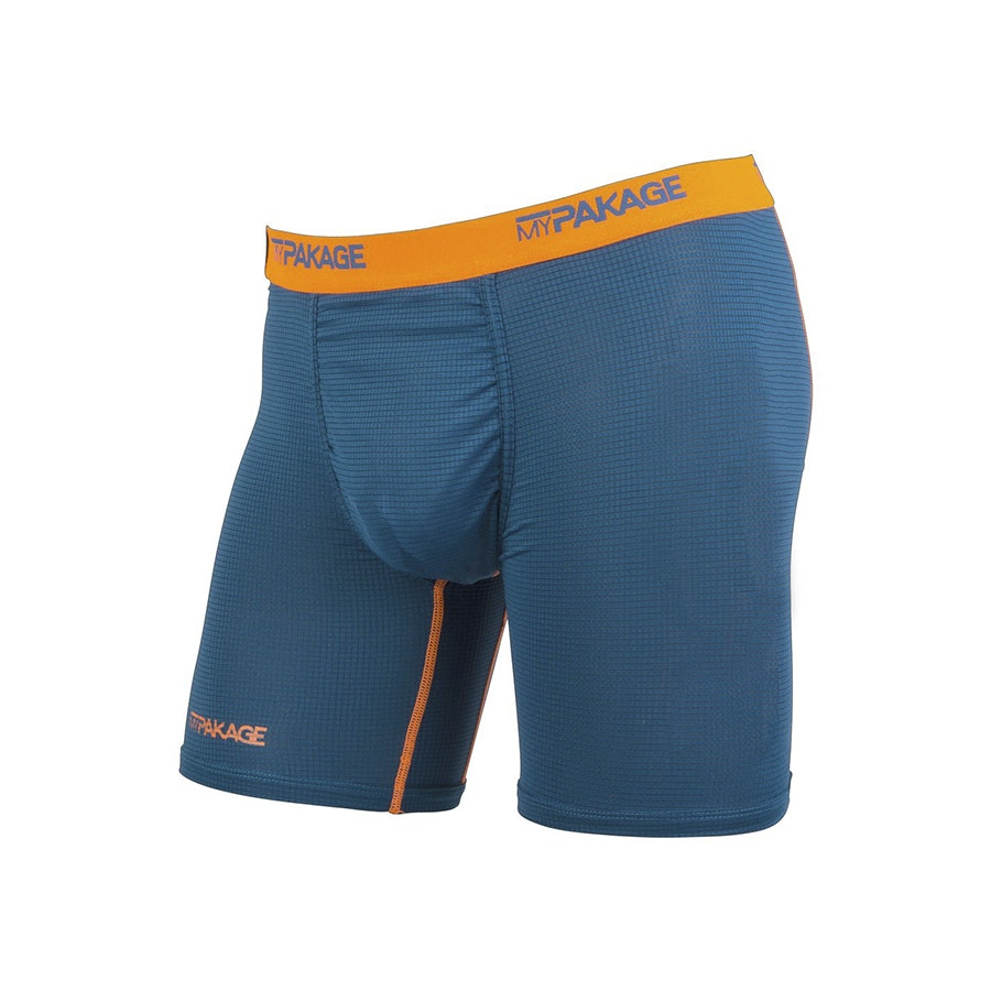 Boxer Briefs, Ink/High-Vis Orange