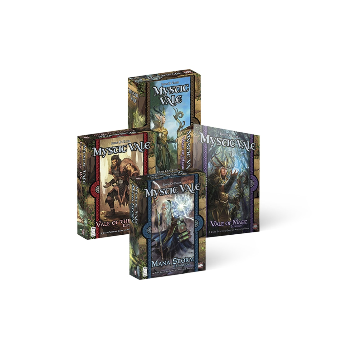 Mystic Vale & Expansions Bundle