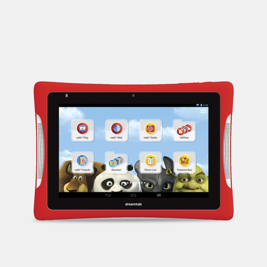 nabi DreamTab HD8 Tablet (Refurbished)