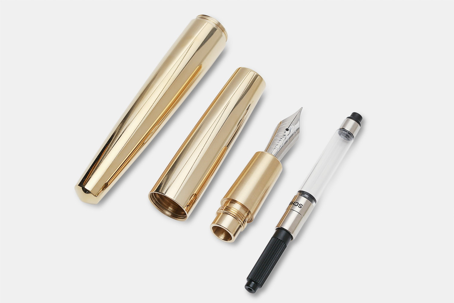 Namisu Nova Brass Fountain Pen