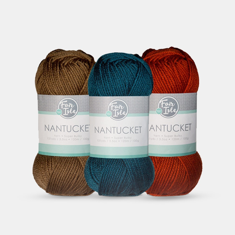Nantucket Yarn by Fair Isle (3-Pack)