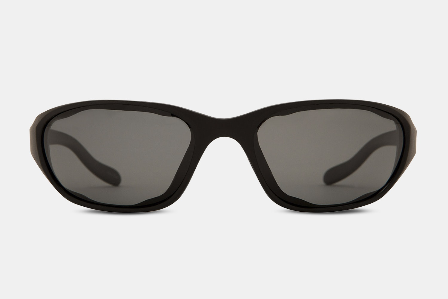 Matte Black with Gray Lens