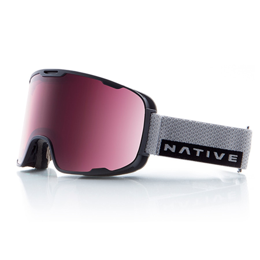Treeline: Gray Rip with Rose React lens (+ $30)