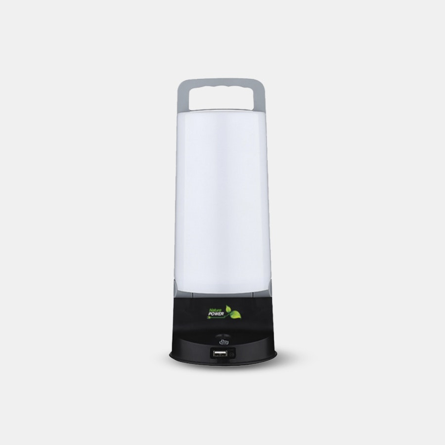 Nature Power Eco Solar Lamp With USB Charger