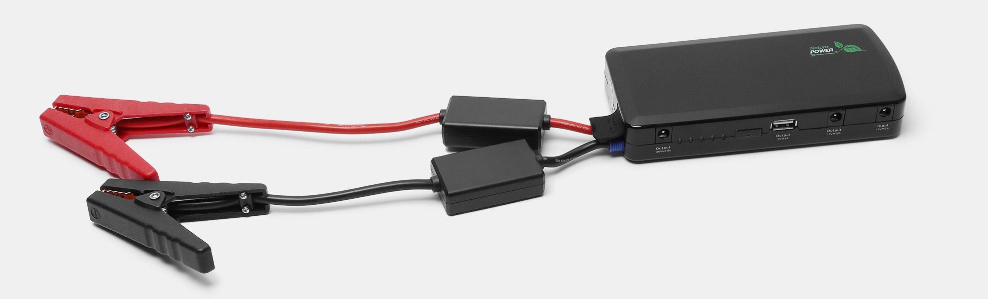 Nature Power Jump Starter & USB Charger