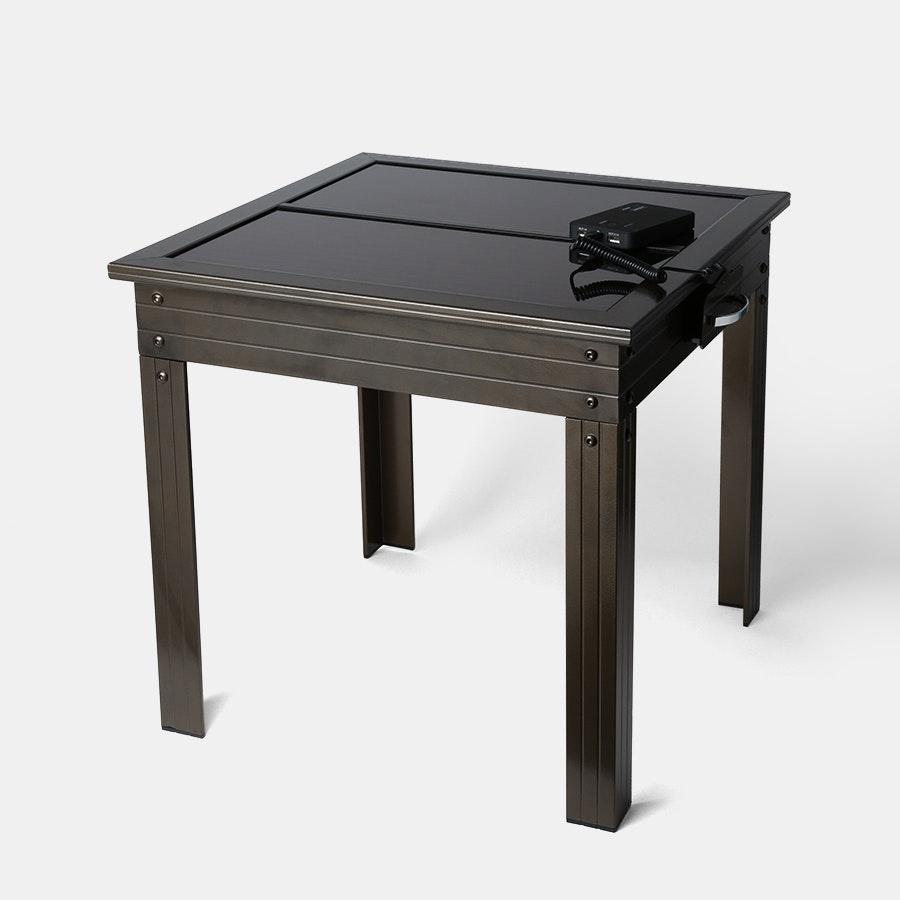 Nature Power Solar-Powered Patio Table W/ Powerbank