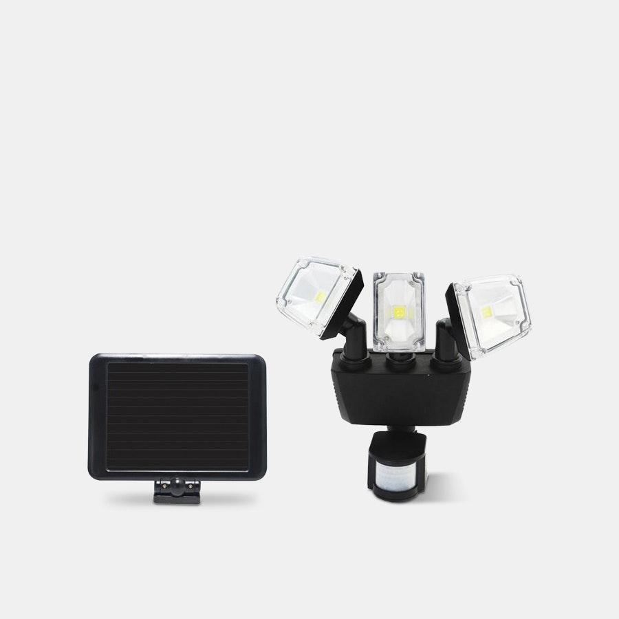 Nature Power Solar Security Triple Light 1200