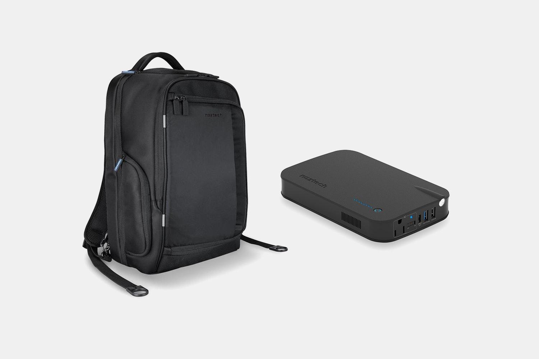 SmartPack Black & Volt Powerstation w/AC Outlet (+$40)