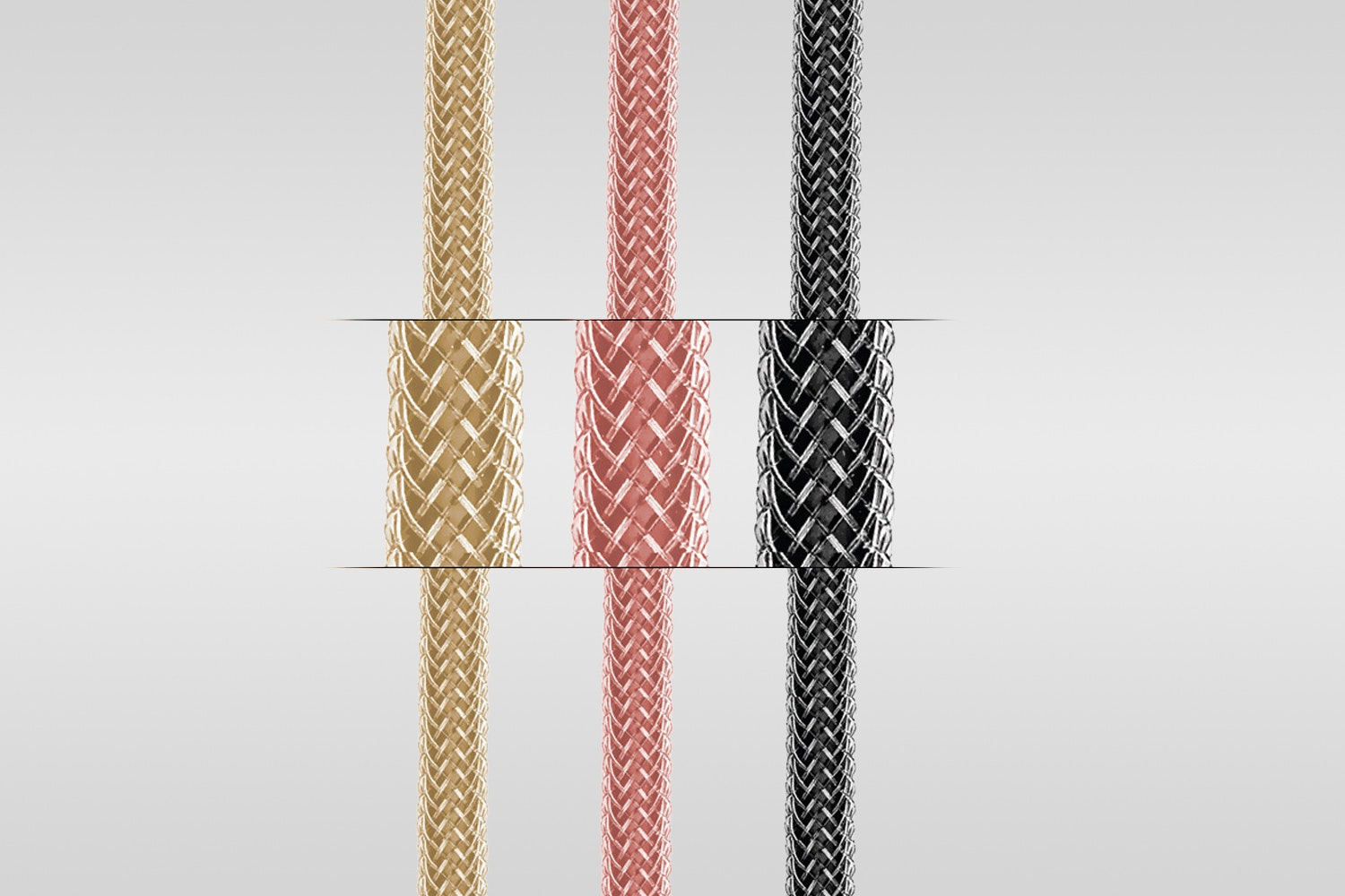 Naztech USB Micro/USB-C/Lightning Braided Cables