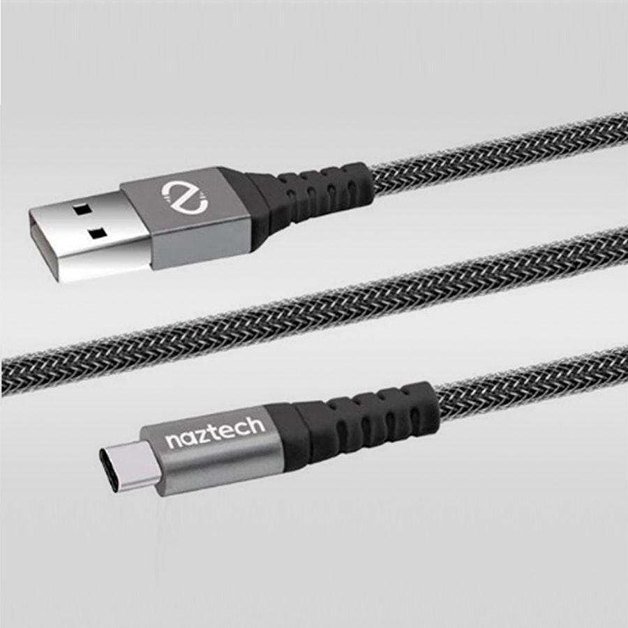 Naztech USB Micro/USB-C/Lightning Braided Cables