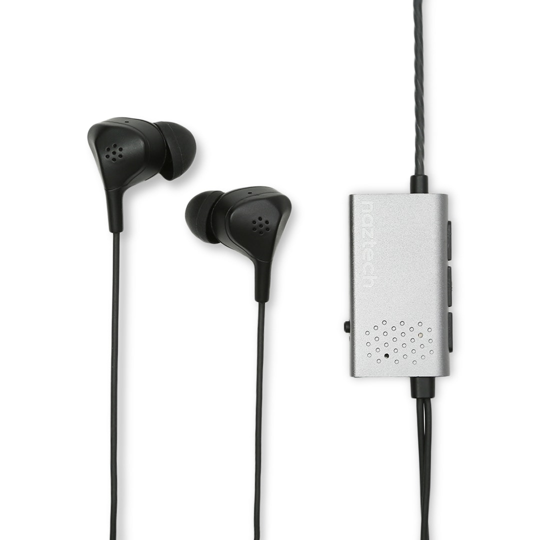 Naztech X1ANC Active Noise-Canceling Earphones