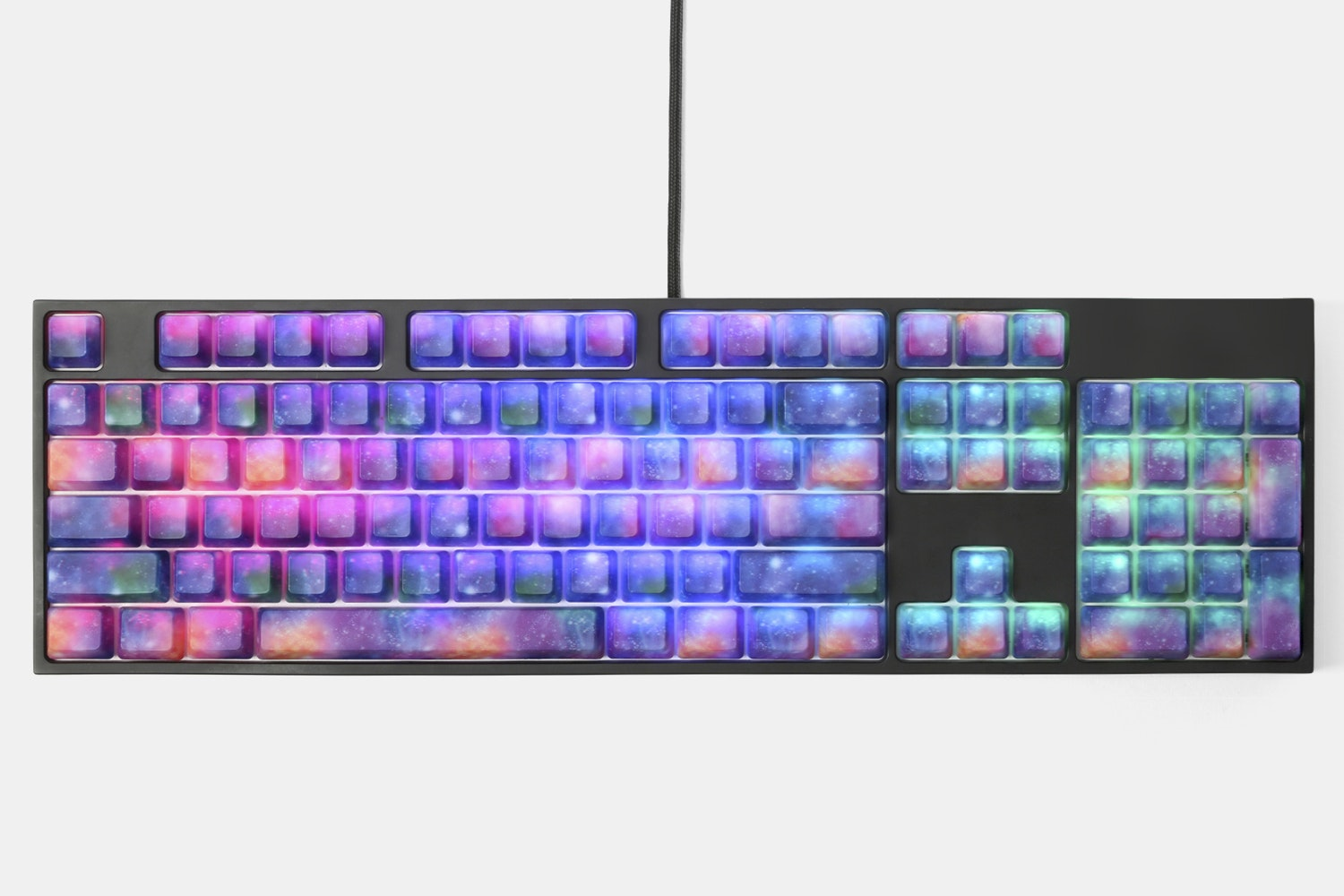 Nebula ABS Water Transfer Keycap Set