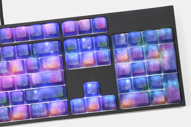 Nebula ABS Water Transfer Keycap Set