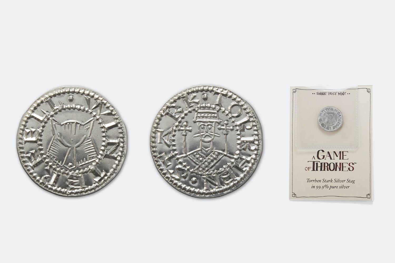 Torrhen Stark Silver Stag (+ $3)
