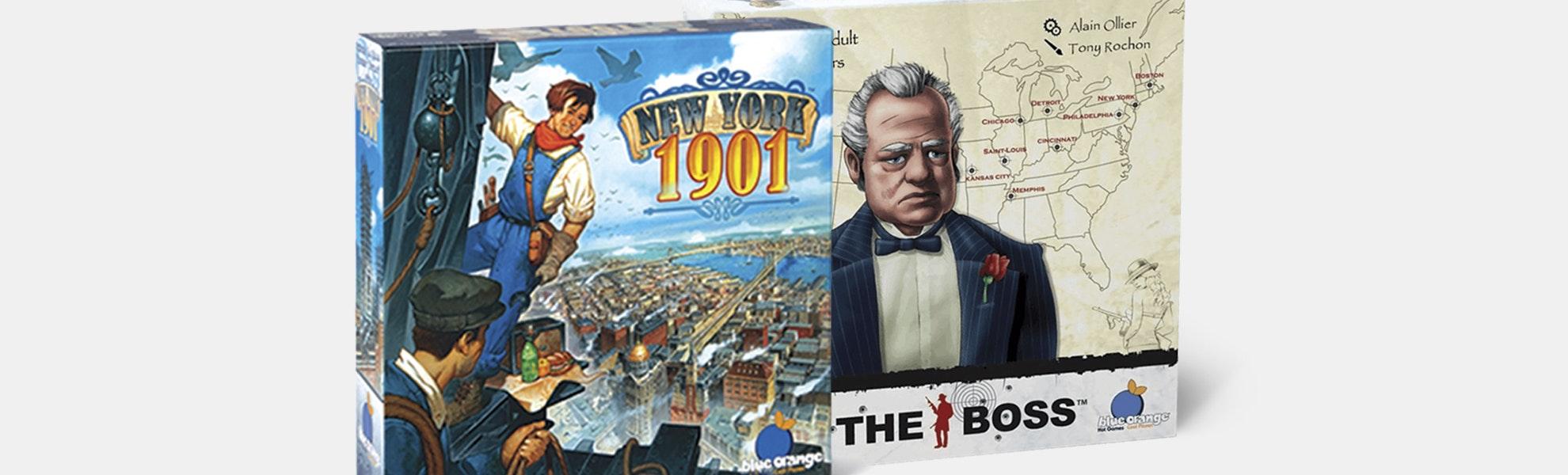 New York 1901 & The Boss Board Game Bundle