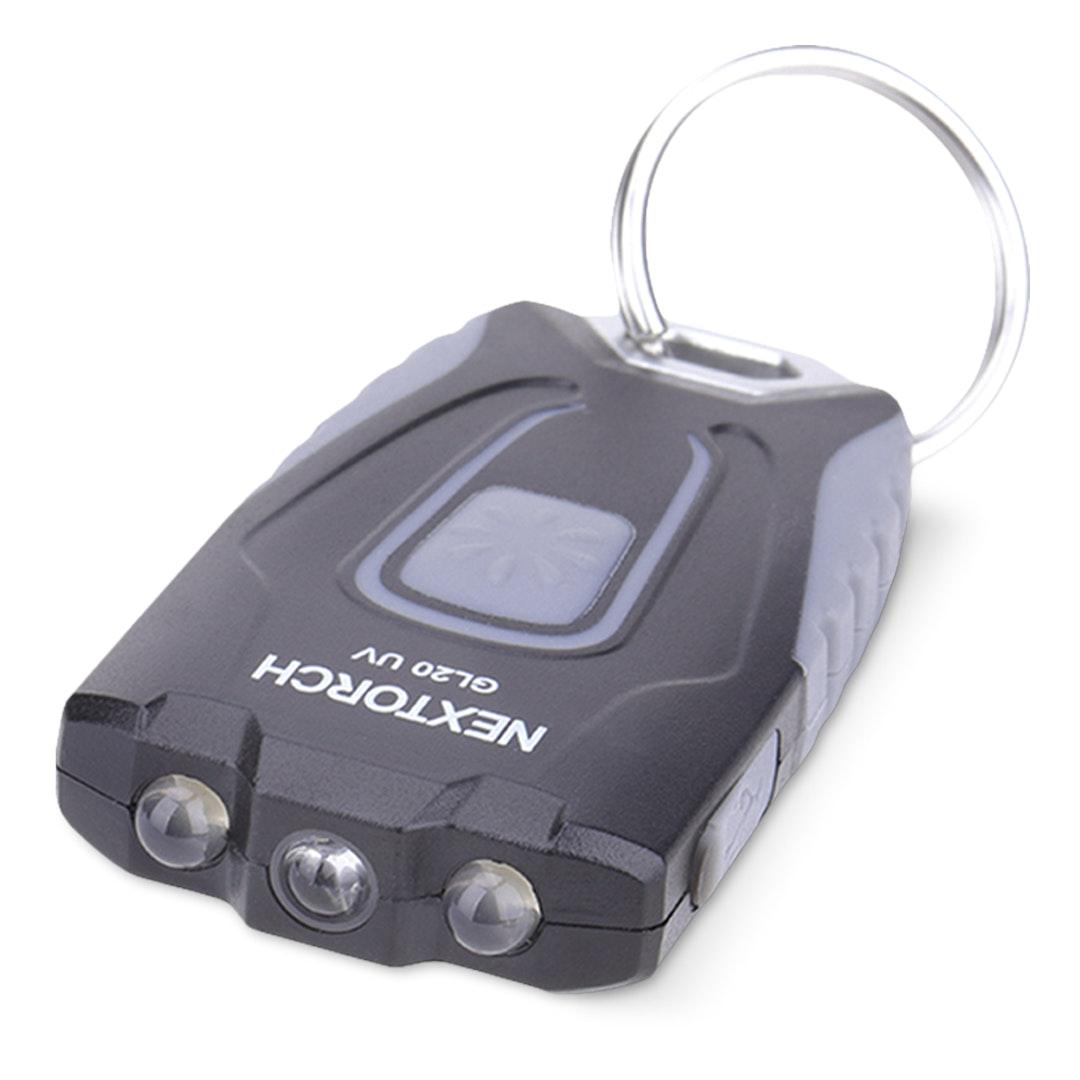 Nextorch GL20 UV Keychain Flashlight (2-Pack)