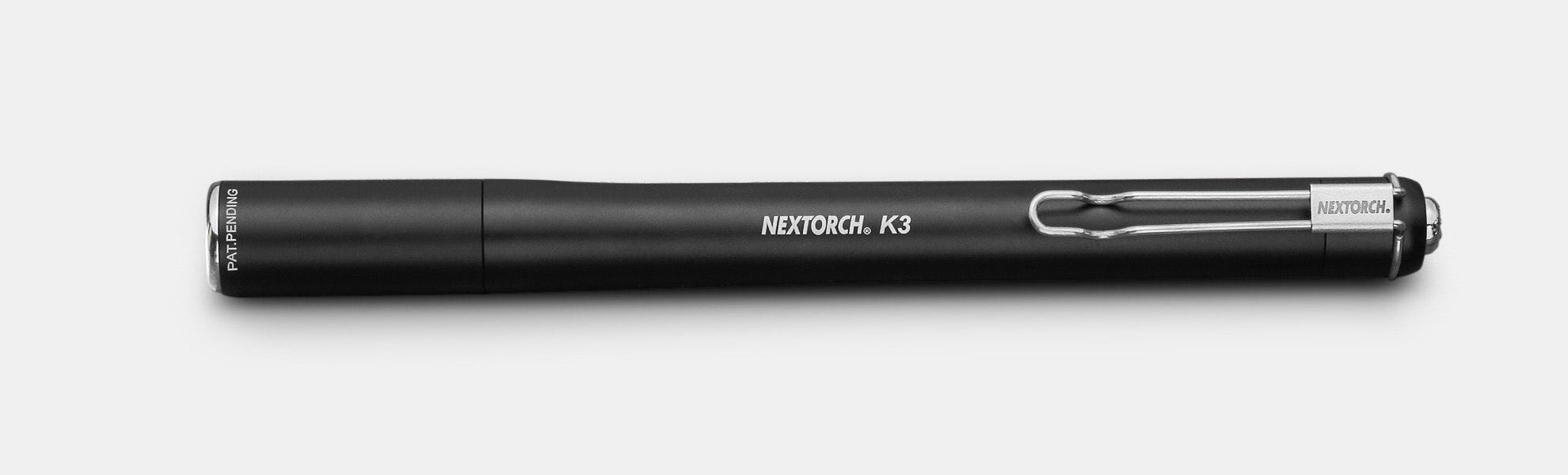 Nextorch K3 Penlight 2xAAA Flashlight