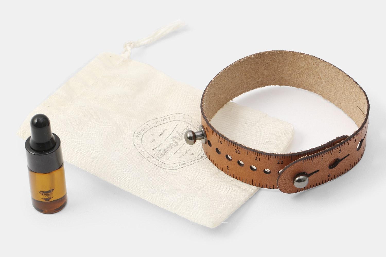 Nick Mankey Designs Leather Ruler Watch Strap