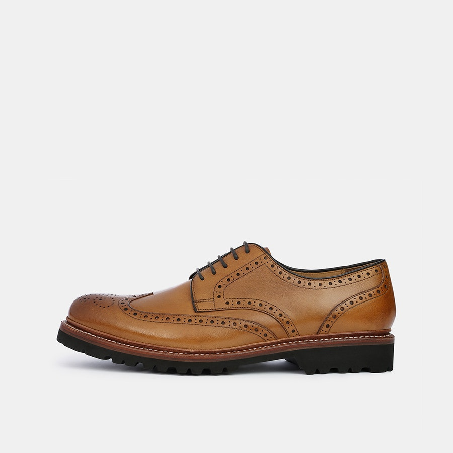 Nico Nerini Wingtips w/ XL Commando Sole