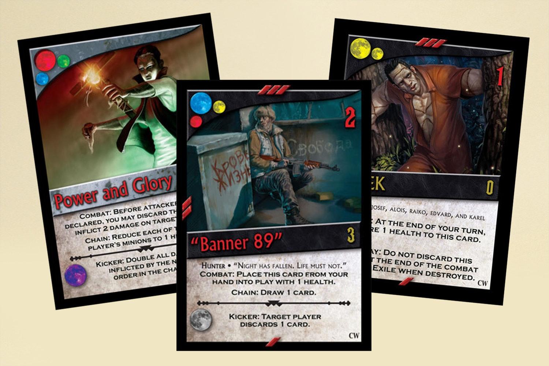 Nightfall Board Game Bundle