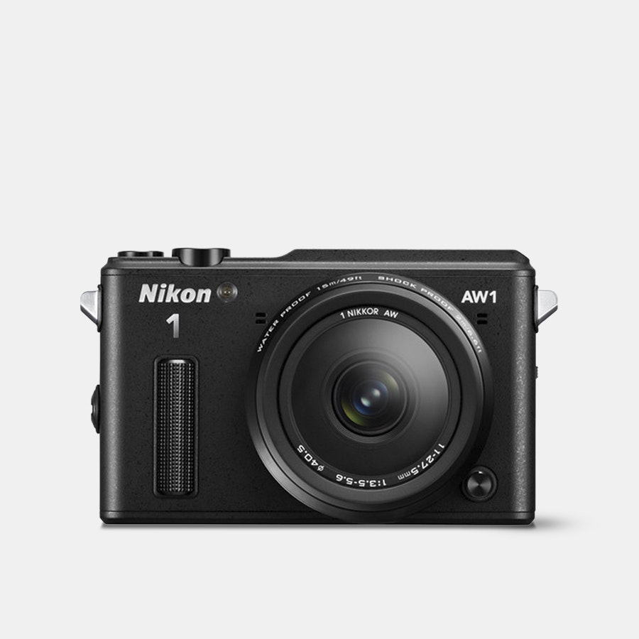 Nikon 1 AW1 Mirrorless Camera w/ 11–27.5mm Lens