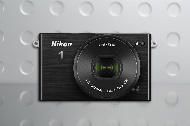 Nikon 1 J4 Mirrorless Camera with 10-30mm Kit