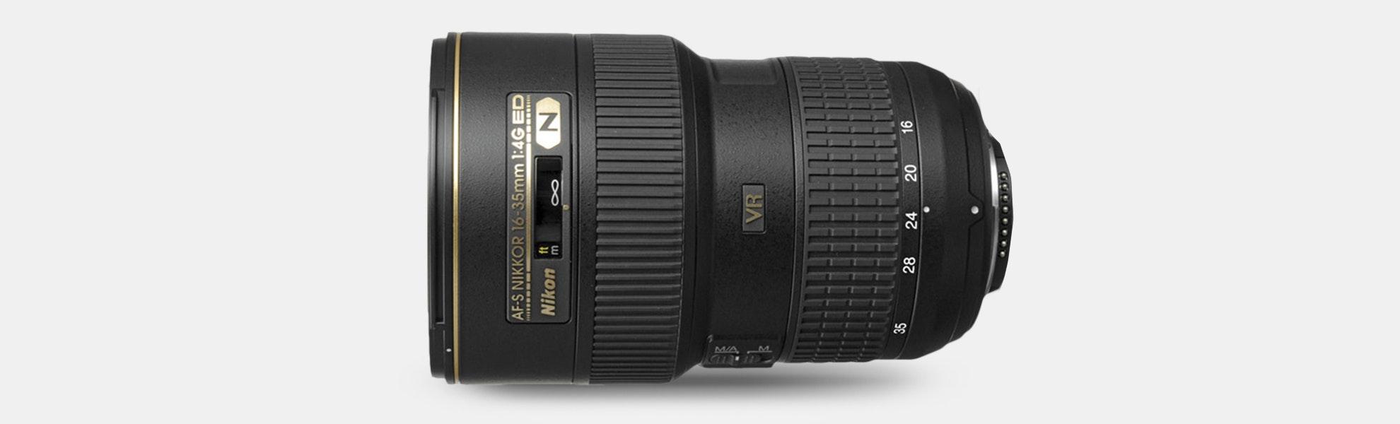 Nikon AF-S NIKKOR 16–35mm f/4G ED VR Lens