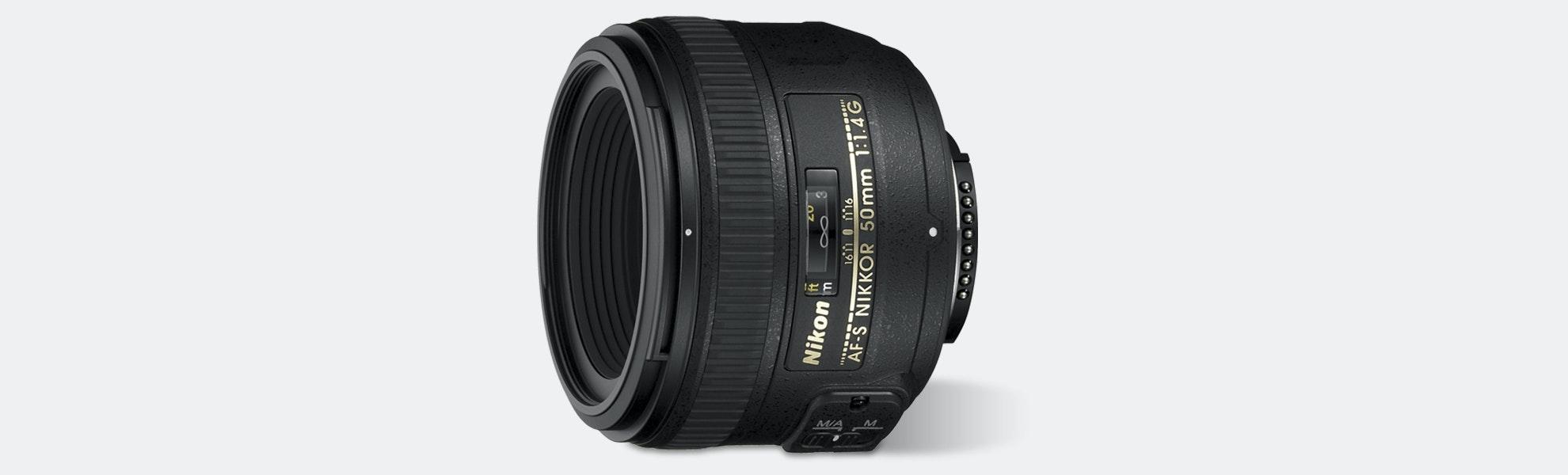 Nikon 50mm Nikkor AF-S F1.4G Lens