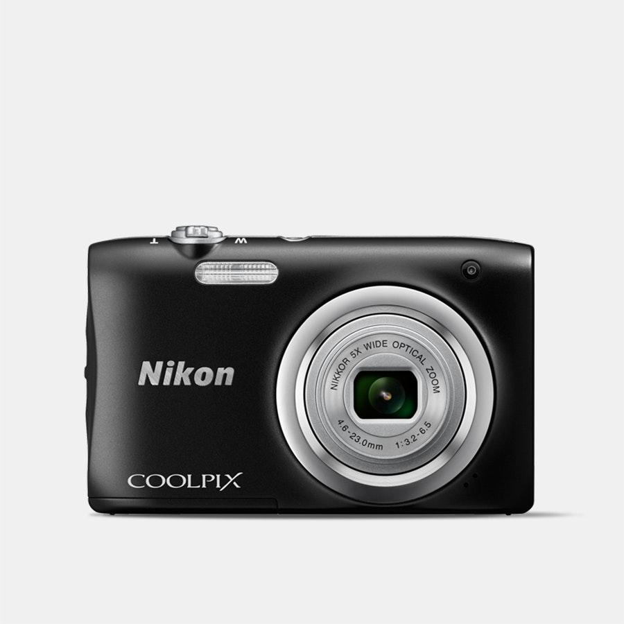 Nikon Coolpix A100 Digital Camera (Black)