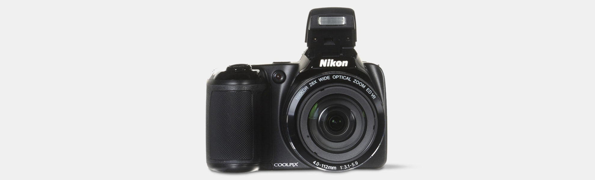 Nikon Coolpix L340 20.2 MP Digital Camera Refurbish