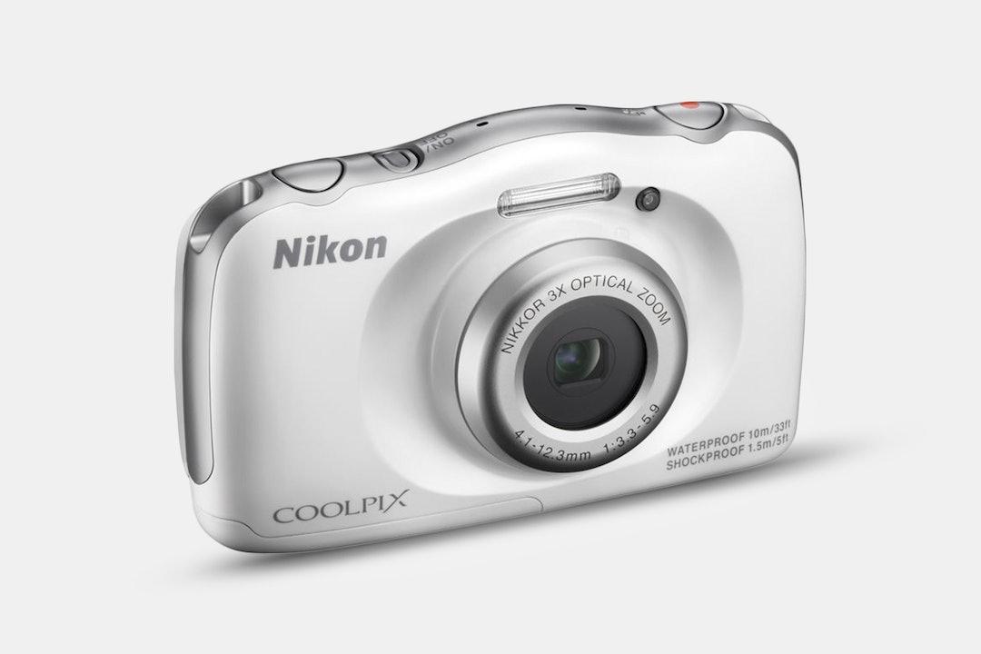Nikon COOLPIX S33 White (Refurbished)