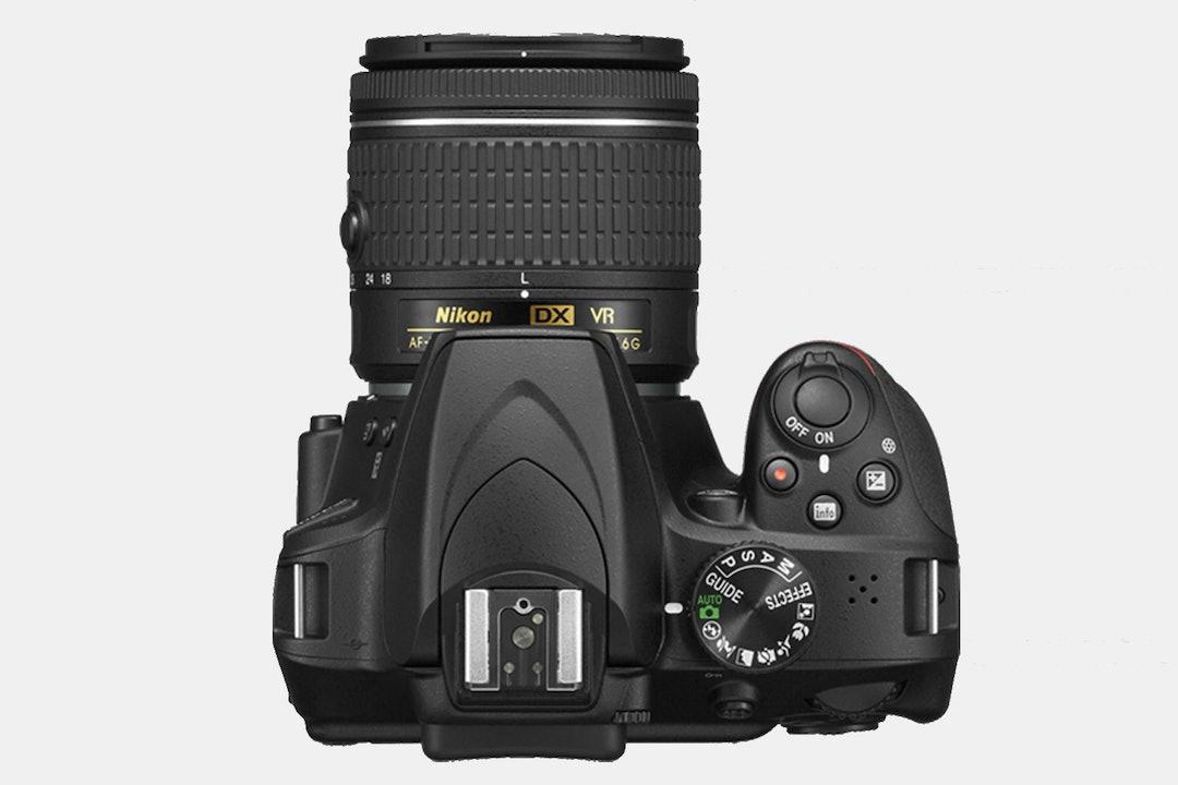 Nikon D3400 w/ AF-P DX 18-55mm f/3.5-5.6G VR Lens