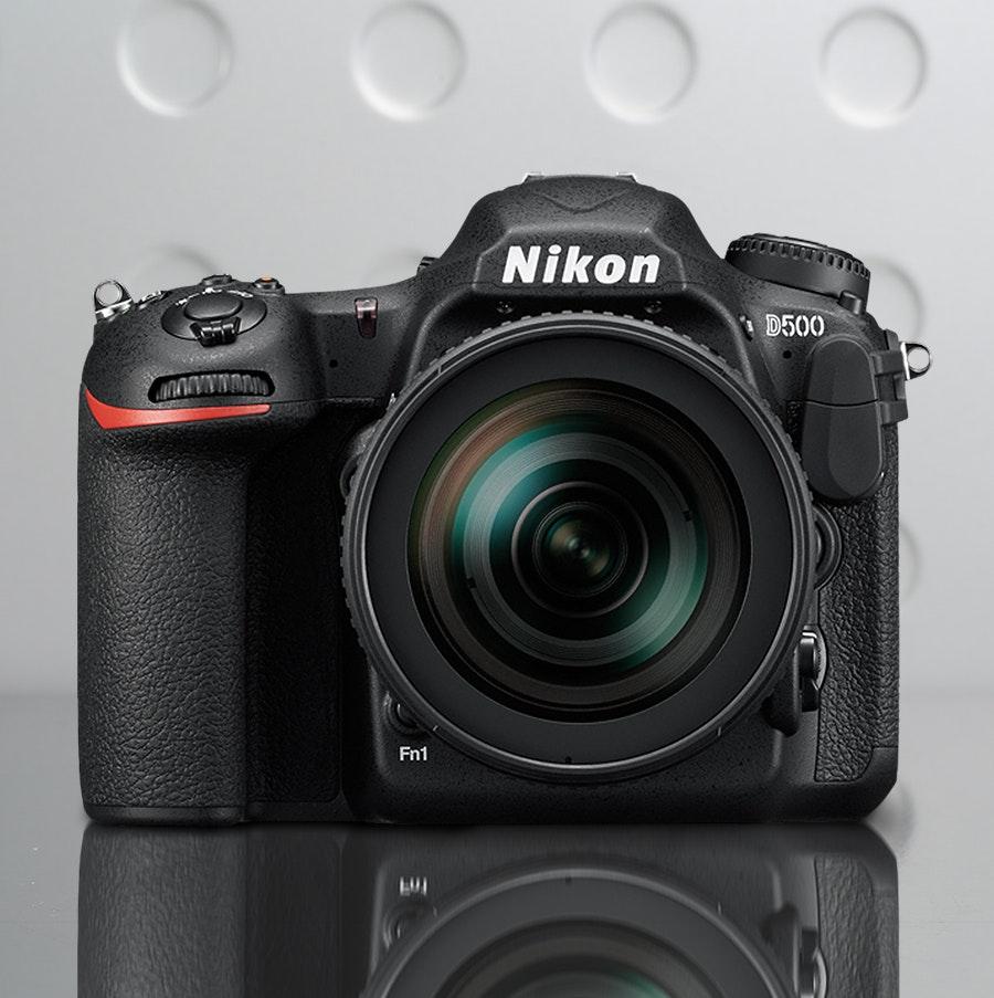 Nikon D500 DSLR w/ Optional Lens