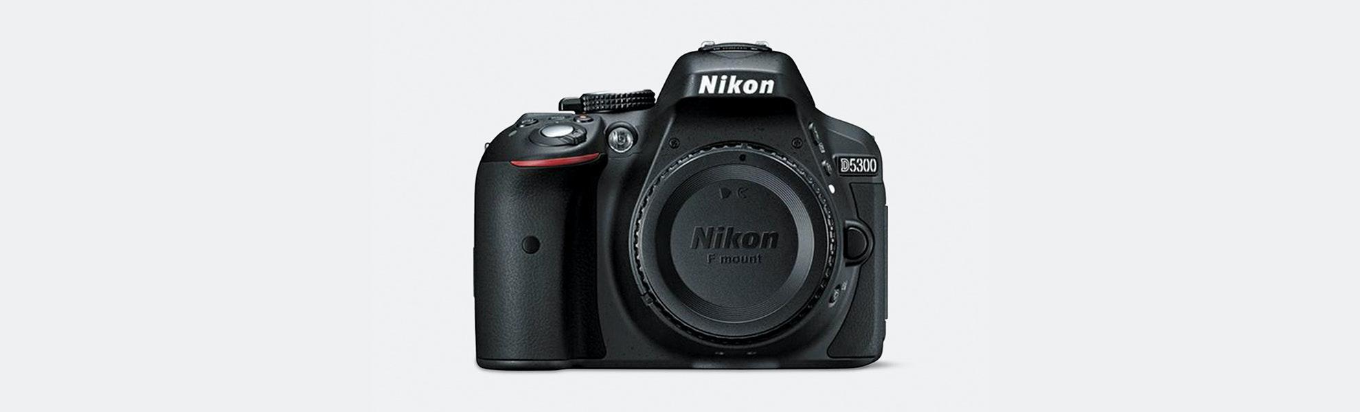 Nikon D5300 DSLR w/ 18–55mm & 70–300mm Lenses