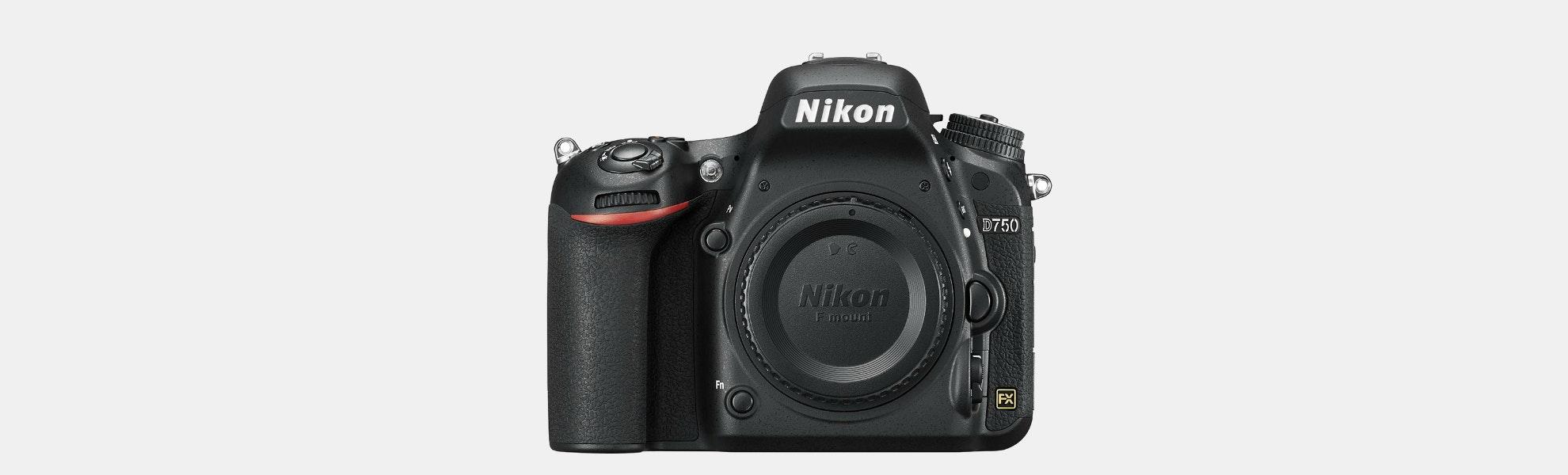 Nikon D750 Digital SLR Camera (Body) Refurbished