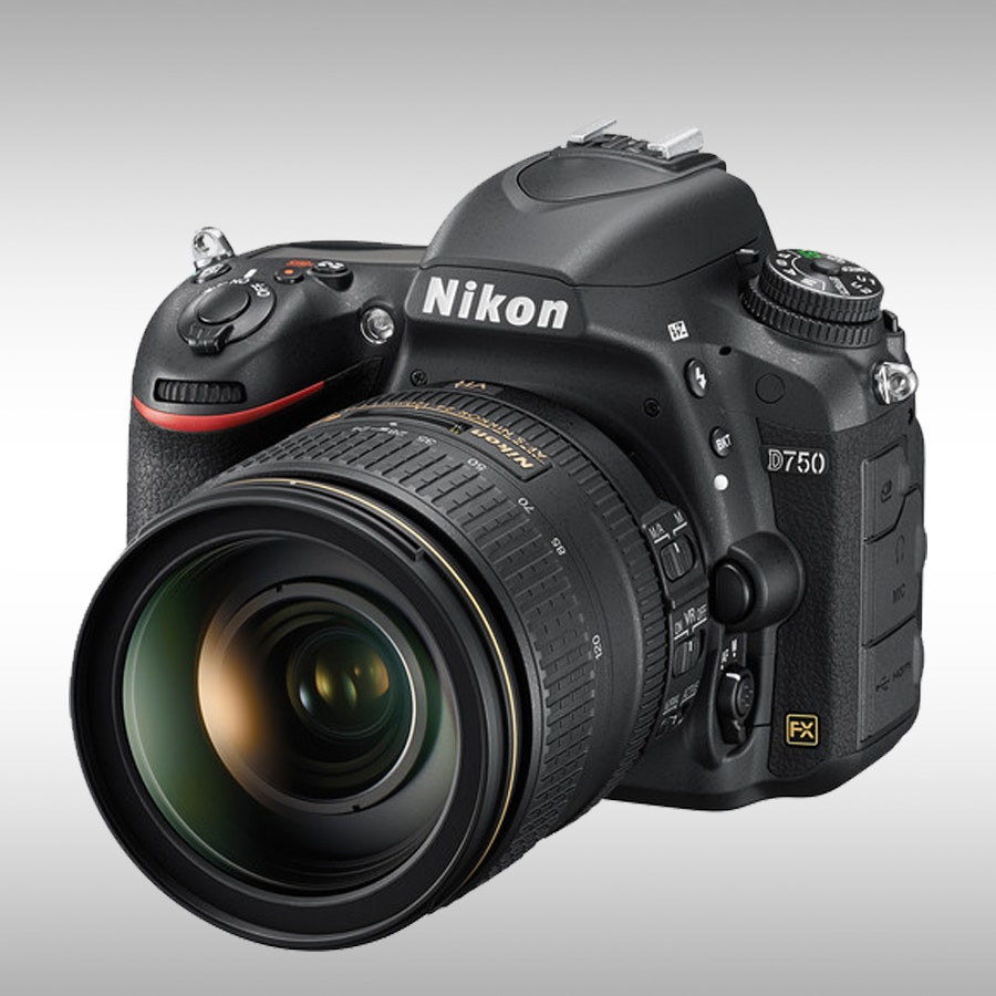 Nikon D750 FX-format Digital SLR Camera w/ 24-120mm