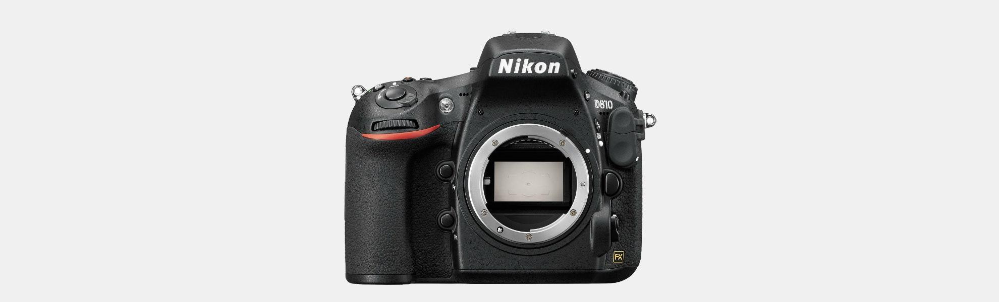 Nikon D810 FX-format DSLR  (Certified Refurbished )