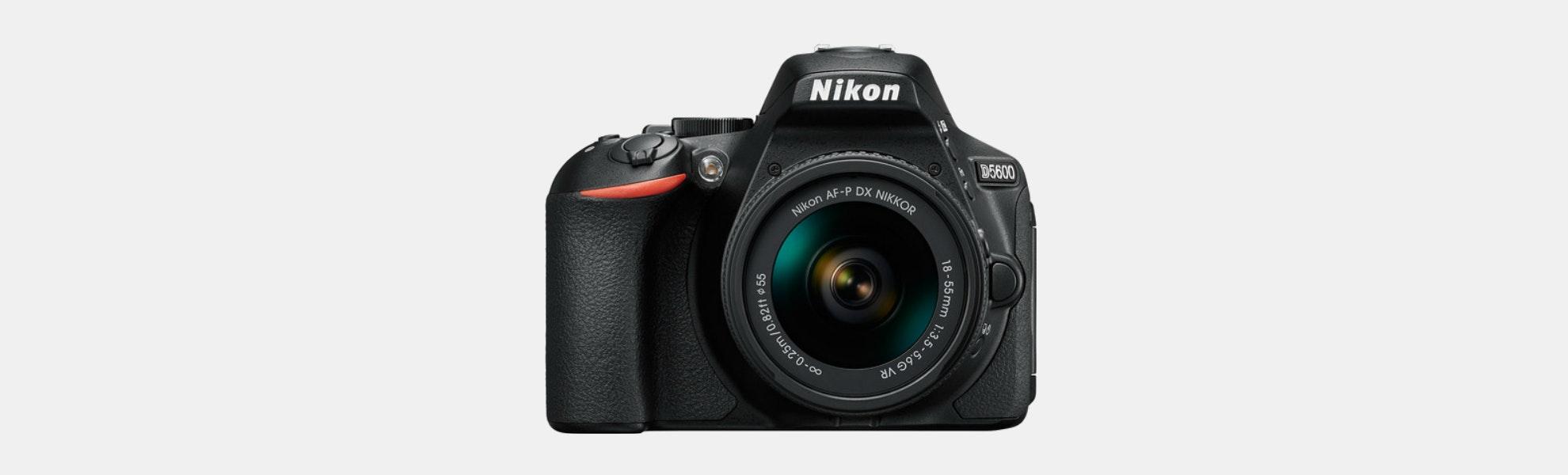 Nikon D5600 w/ 18-55mm and 70-300mm (Refurbished)